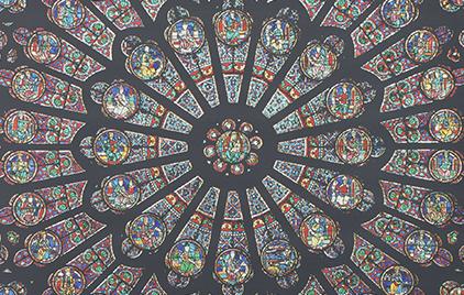 Cathédrales hermétiques – vitraux